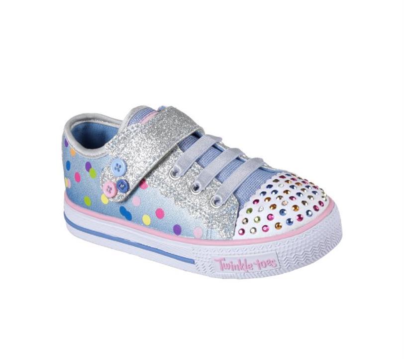 on sale eb2c0 77e6b Skechers Infant Girls Twinkle Toes Shuffles – Dazzle Dots